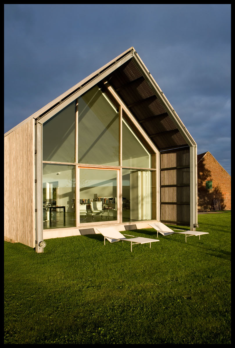 buro ii archi i kris vandamme the barn house divisare