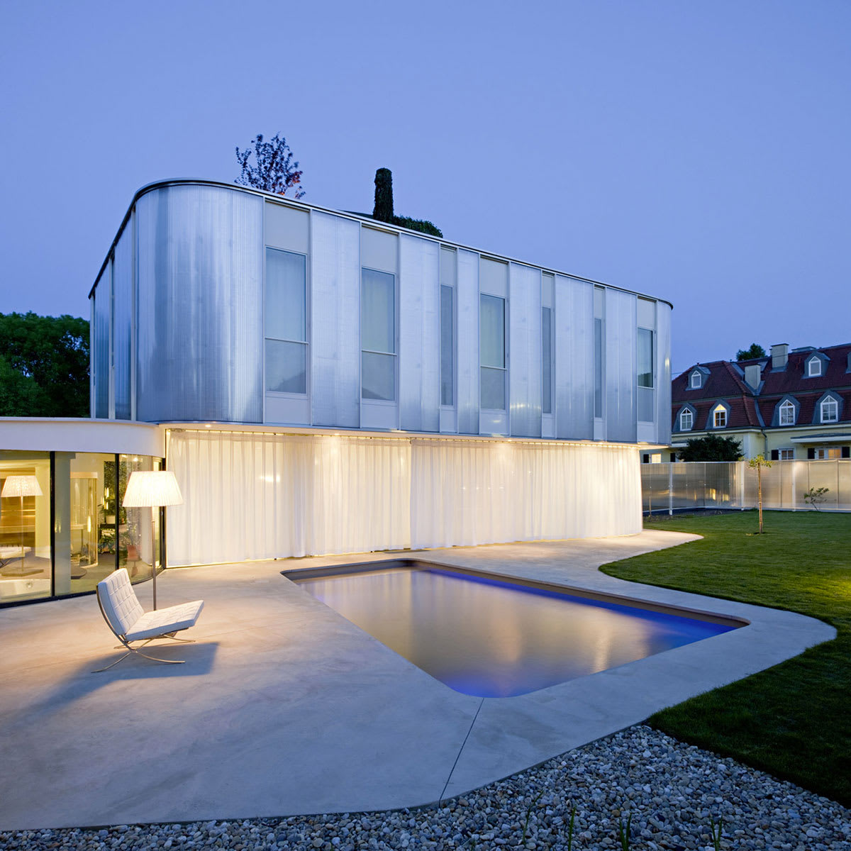 Caramel architekten hertha hurnaus house 500m living - Caramel architekten ...