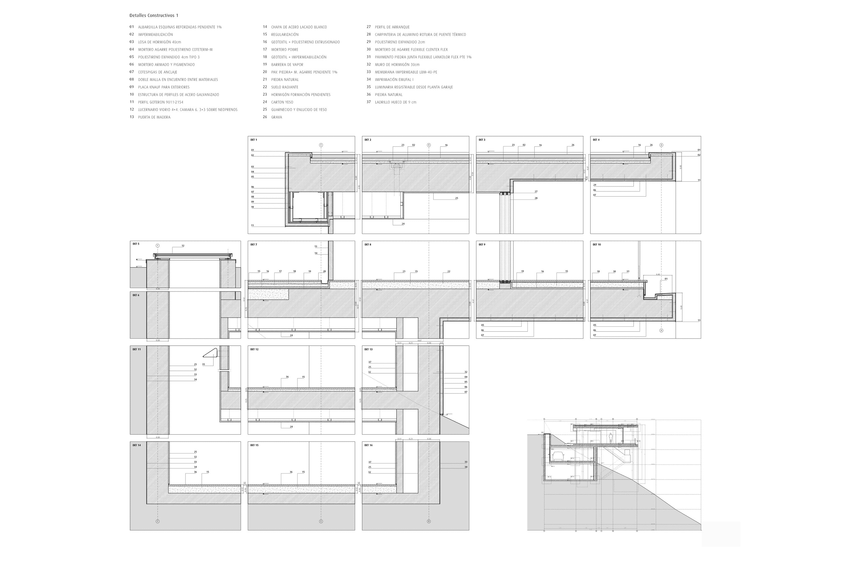 Details of outdoor spaces a collection curated by divisare - Fran silvestre arquitectos ...